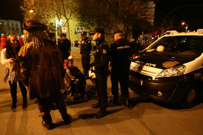 La Policía cifra en 360.000 las personas que disfrutaron del sábado de Carnaval