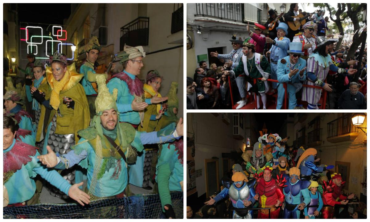 El carrusel de La Viña y del Mentidero coincidirán el segundo sábado de Carnaval