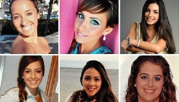 Elegidas las ninfas del Carnaval de Cádiz 2015