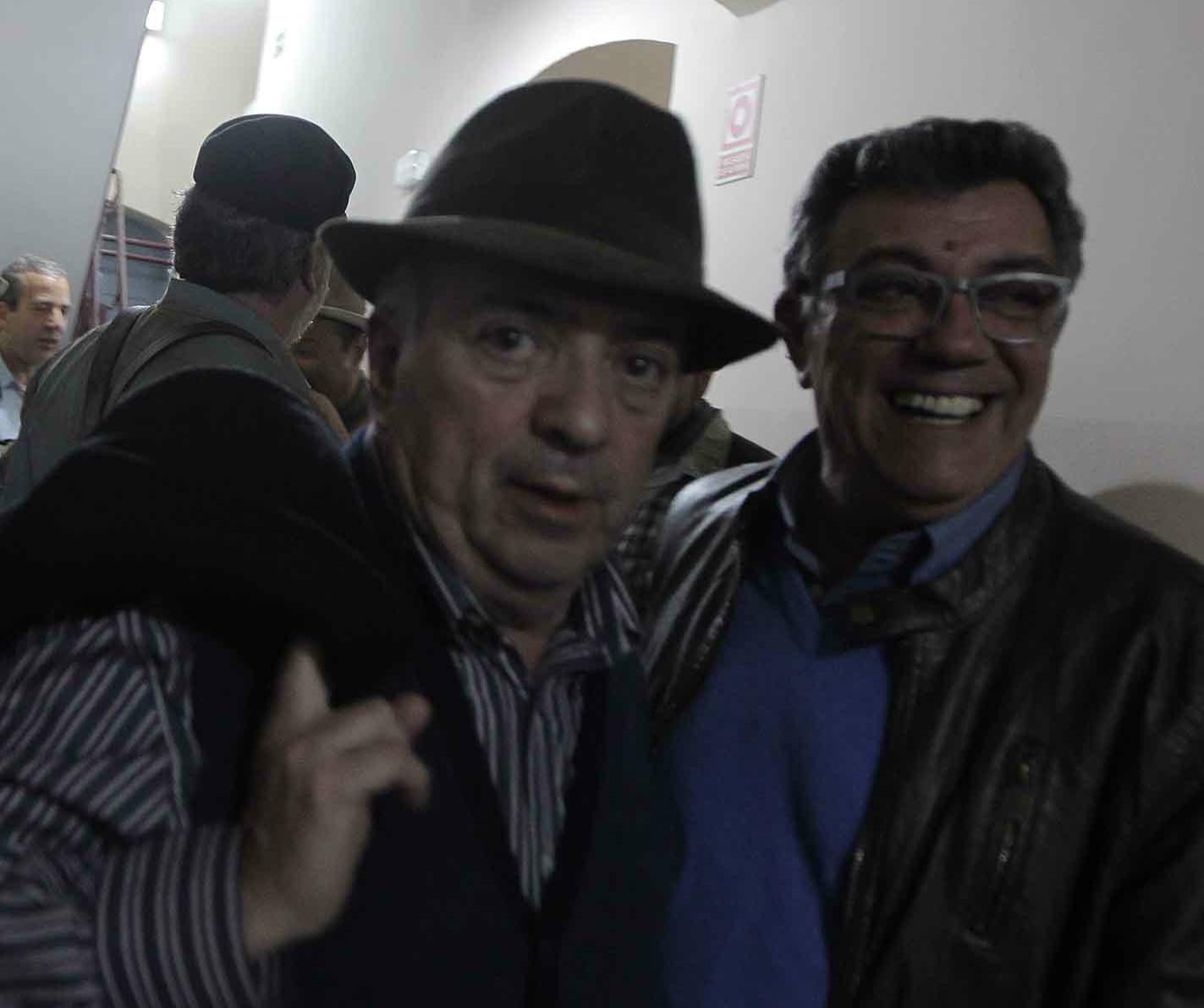 Reencuentro de viejos copleros en el Falla