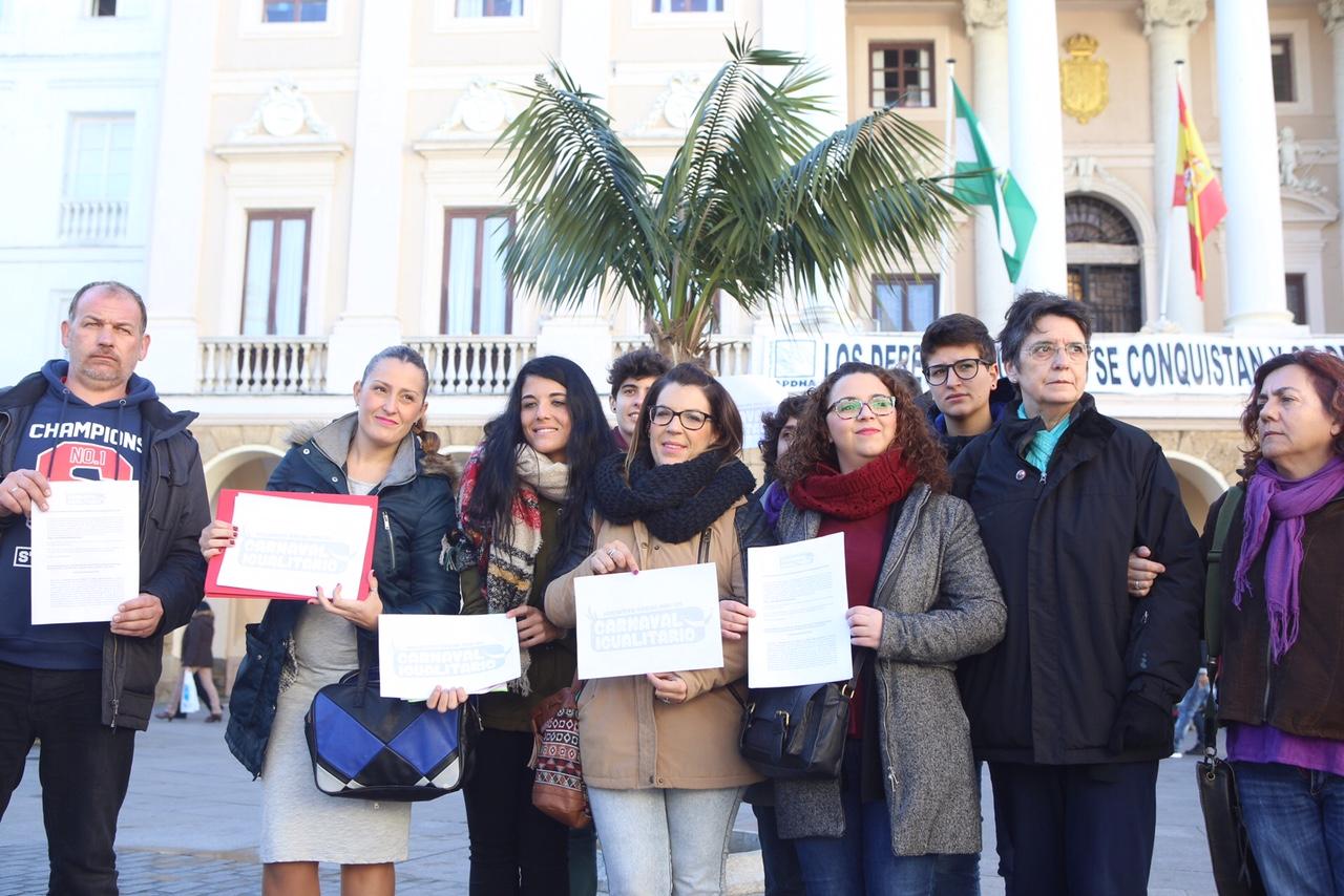 Colectivos y mujeres del Carnaval de Cádiz piden eliminar el concurso de ninfas
