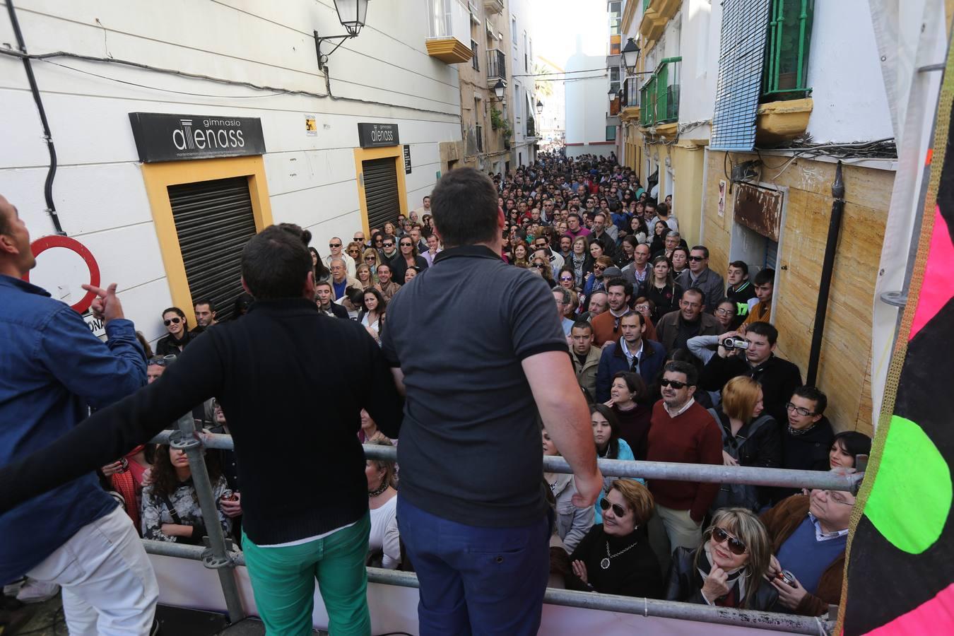 Cádiz ya prueba su aperitivo carnavalesco