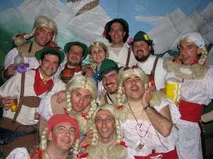 Tirolés, tirolinas y las cachas de Betina