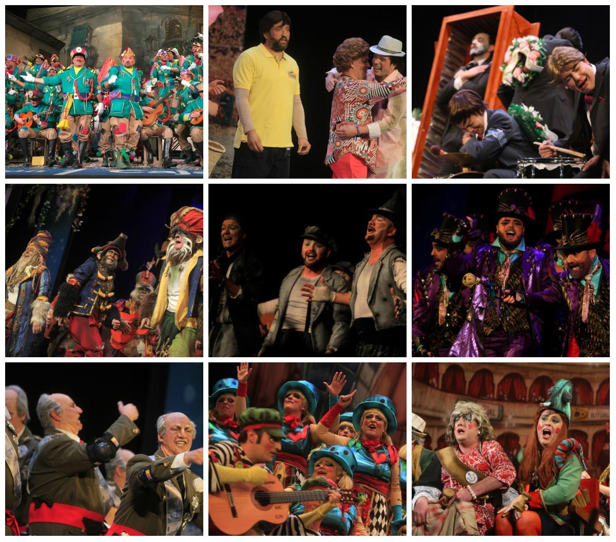 Sigue en directo el concurso del Carnaval de Cádiz desde el Falla