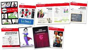 El 'Tebeo en el Falla', la revista de LA VOZ que anunció el inicio del Concurso