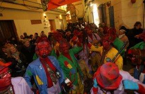 Encuentro de chirigotas callejeras en Los Apóstoles