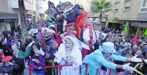 El carrusel beduino se hace cita imprescindible en el Carnaval