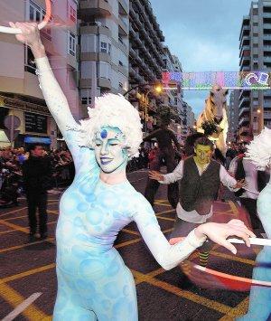 Cádiz se viste de carnaval