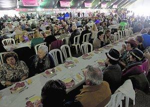 Los mayores celebran su Carnaval