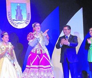 Fabiola Valdés y Alba Solís, elegidas Perla y Perla Infantil de Chipiona