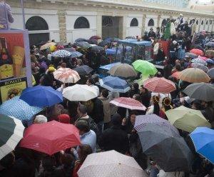 La lluvia estará presente durante el primer fin de semana de Carnaval