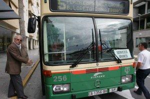 Los autobuses urbanos funcionarán toda la madrugada del domingo
