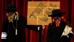 Los rabinos con rima, punteros del puntero