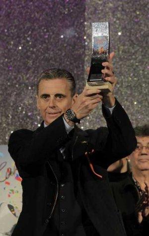 Entrega de premios a los ganadores del COAC 2012