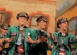 Fotos: Tercera fase clasificatoria de juveniles en el Gran Teatro Falla