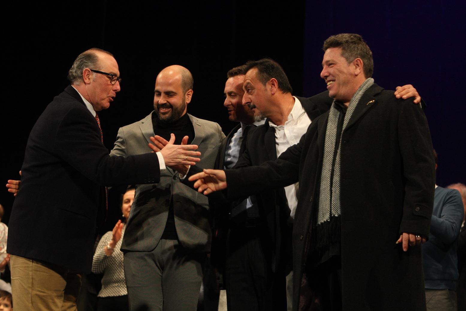 Cinco galardonados de lujo para celebrar medio siglo de Antifaces de Oro