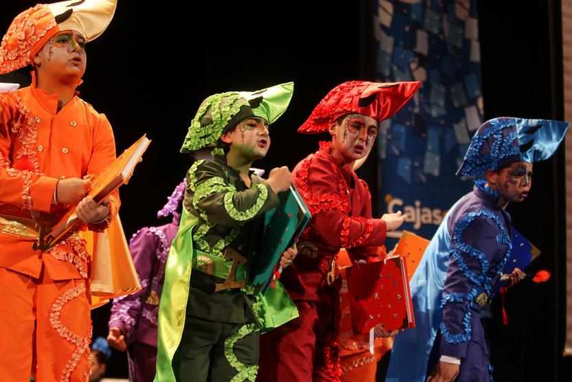 Los más pequeños protagonizan la primera Final del Carnaval 2012