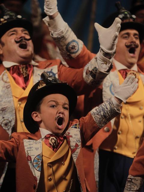 """Quiero ser corista como papá"""