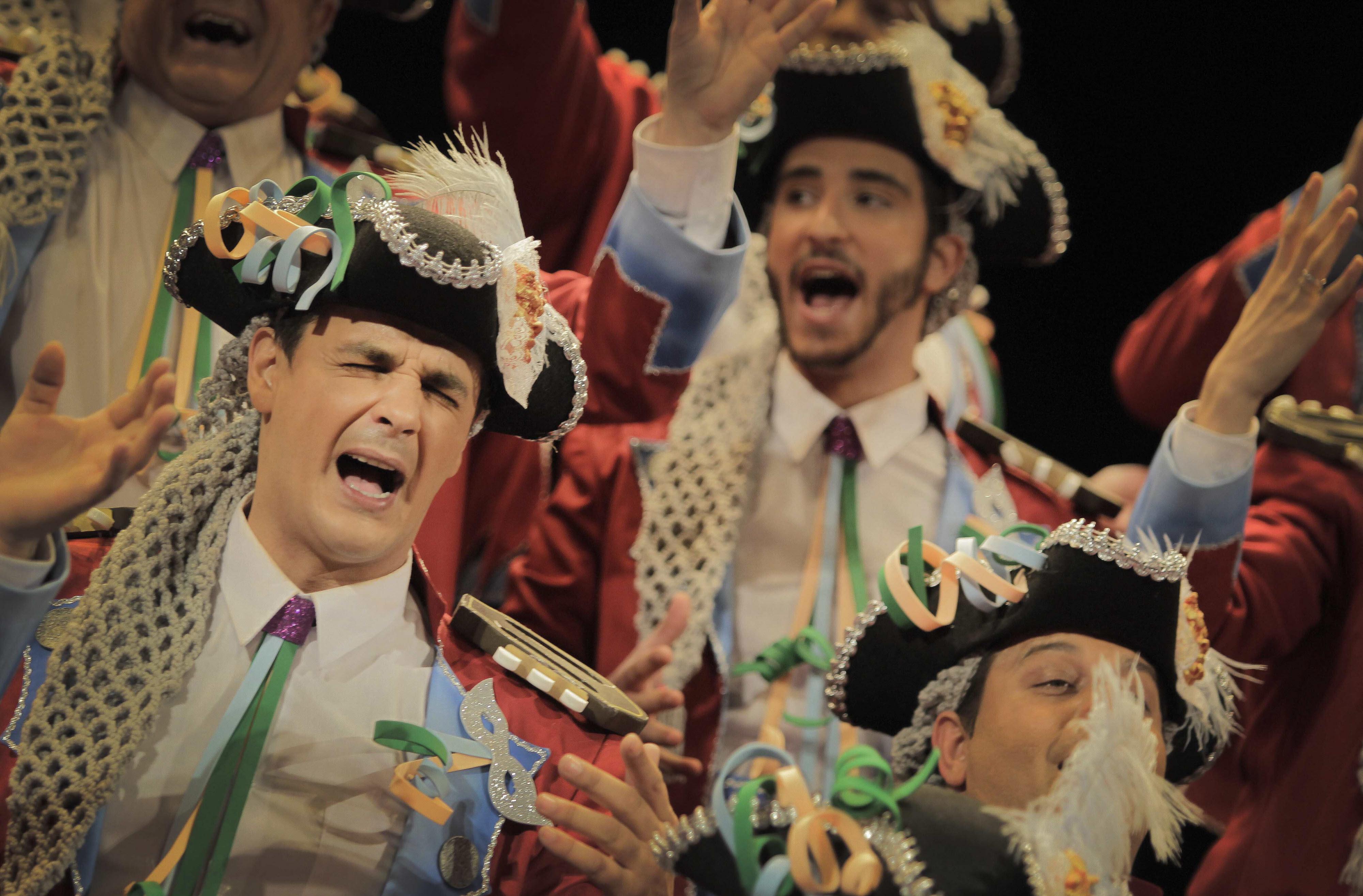 Listado de orden de actuación del Concurso del Carnaval 2015 de adultos