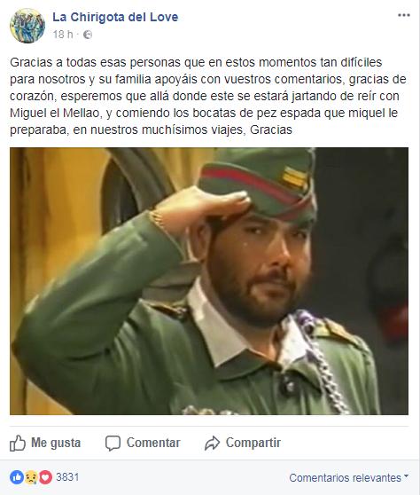Emocionante despedida a Manolo Cornejo, el maestro de los chirigoteros