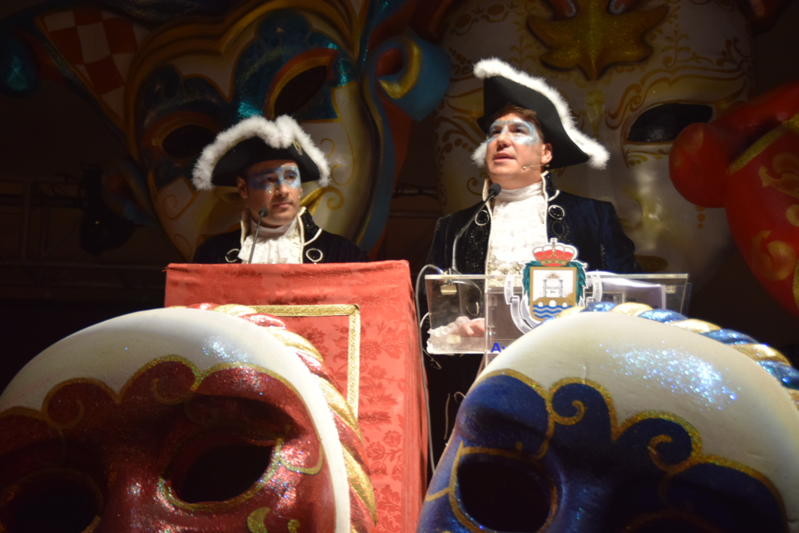 San Fernando se rinde a Andy y Lucas en su carnaval