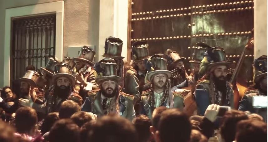 La comparsa de Aragón saca a la venta un documento inédito sobre 'Los millonarios'