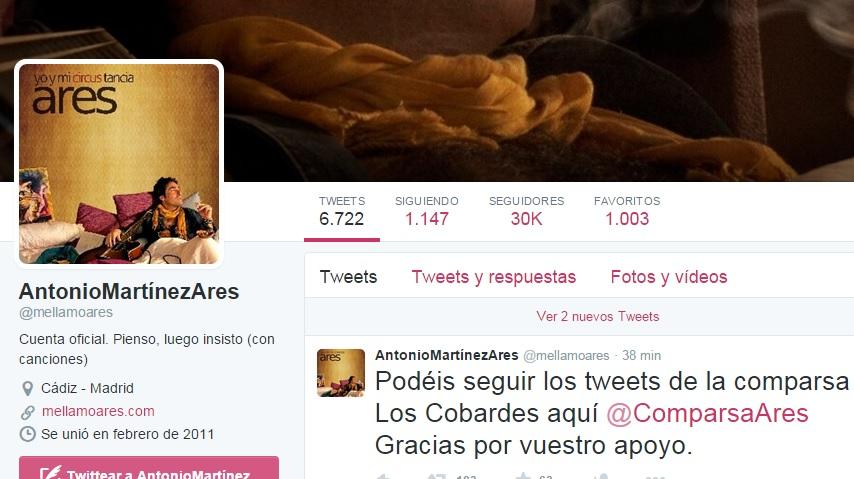 La comparsa de Antonio Martínez Ares será 'Los cobardes' en el Carnaval 2016