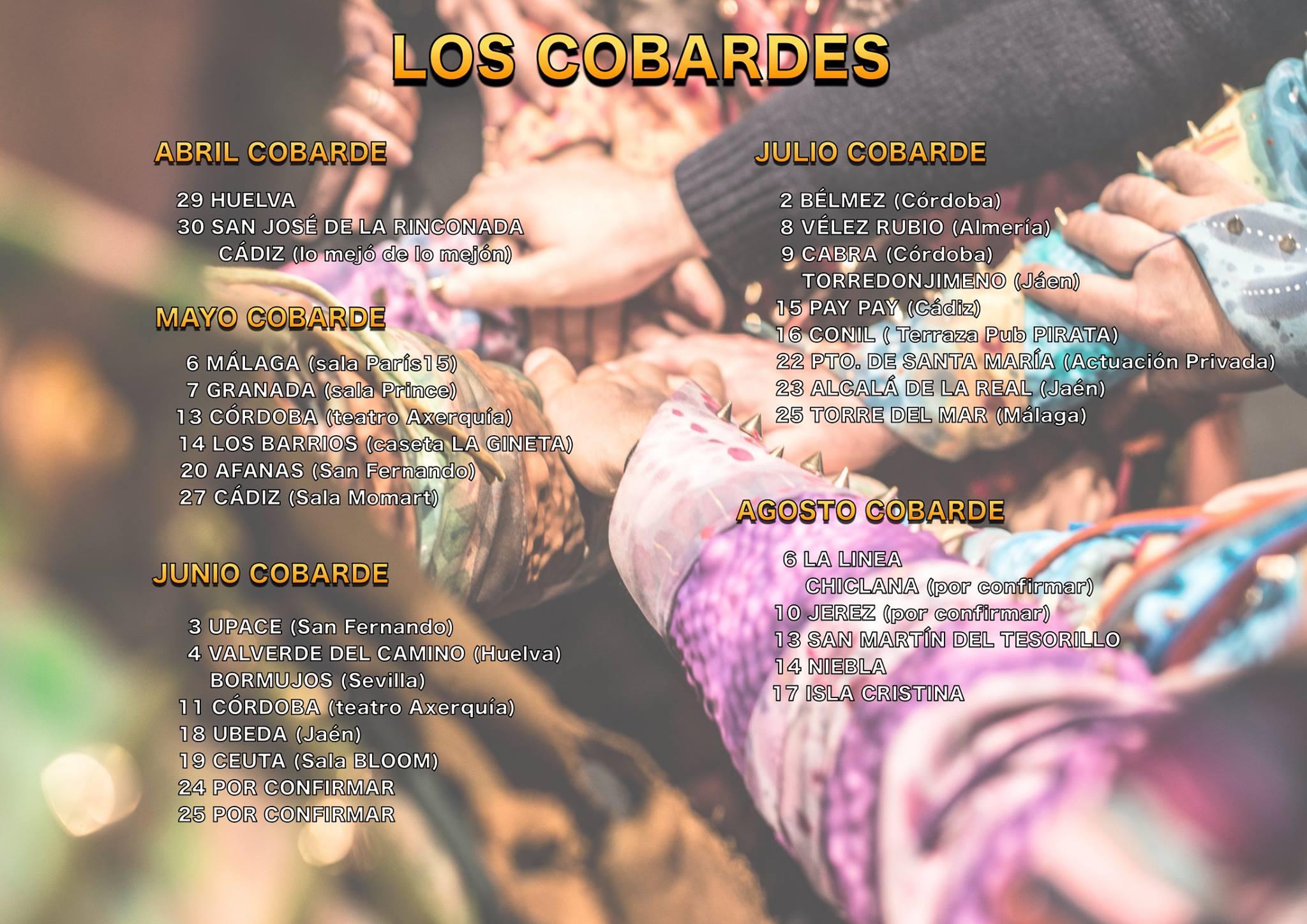 La impresionante agenda de actuaciones de la comparsa de Martínez Ares