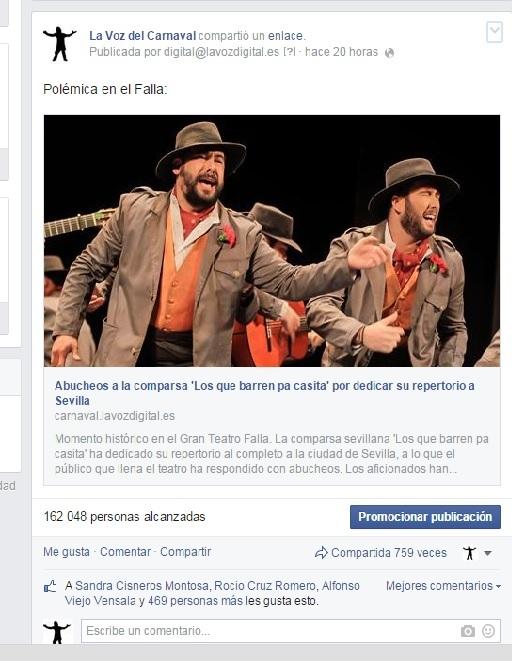 La actuación de 'Los que barren pa casita' enciende las redes sociales
