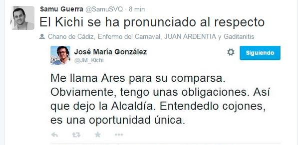 Las mejores bromas y felicitaciones por el regreso de Martínez Ares