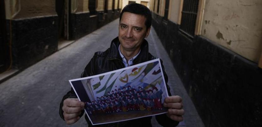 «Aún recuerdo la calle Ancha entera llena de gente siguiendo al coro»
