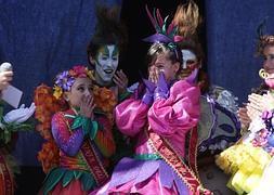 Rubén Rey pregona el Carnaval de los niños, que ya tiene diosa