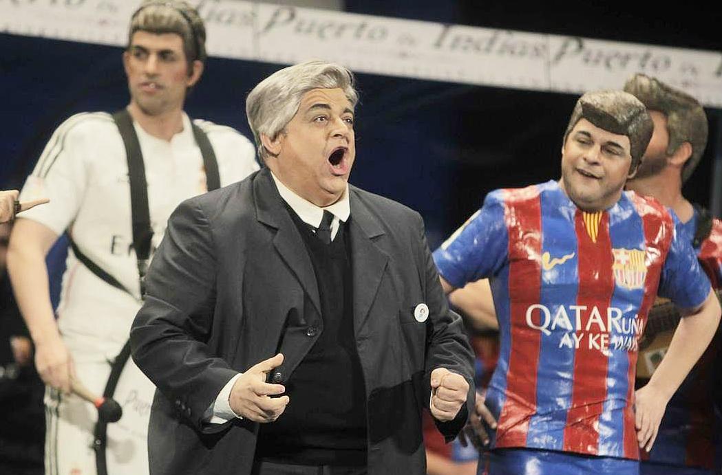 La chirigota del Canijo ficha al 'Lacio' y anuncia su nombre para el Carnaval de Cádiz 2016