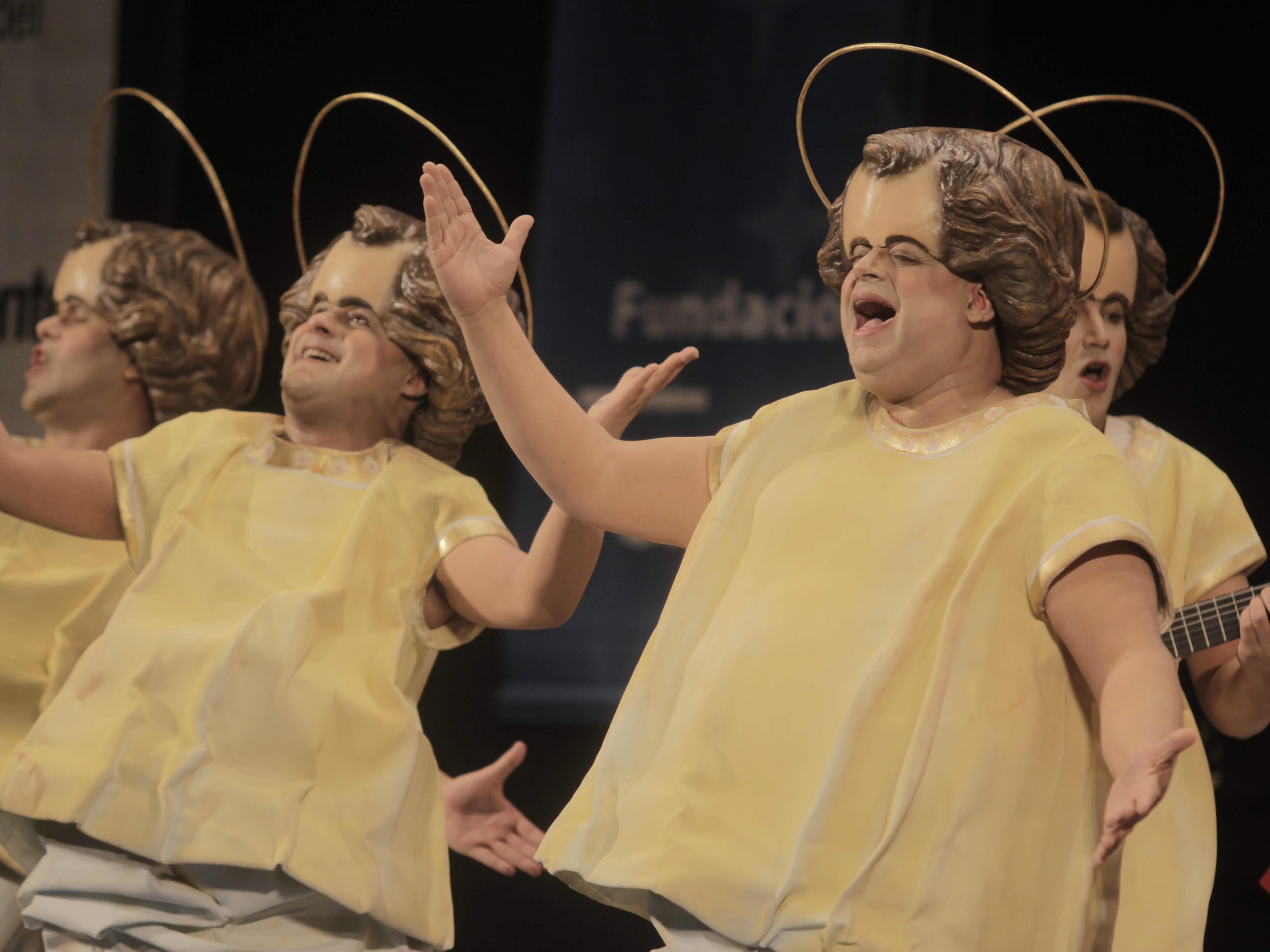 La chirigota del Canijo '¡Qué caló! pone su música en manos de Jesús Bienvenido