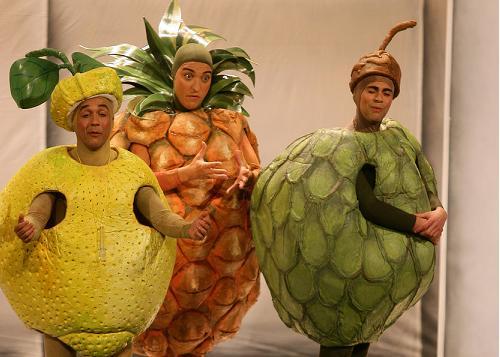 Los grillos se vuelven locos por la fruta