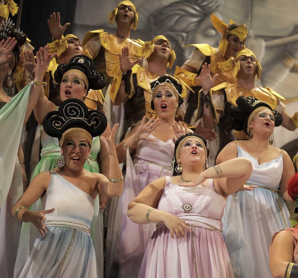 El cuarteto de Joselito y el coro de Luis Rivero, dos terceros premios en la sesión de hoy