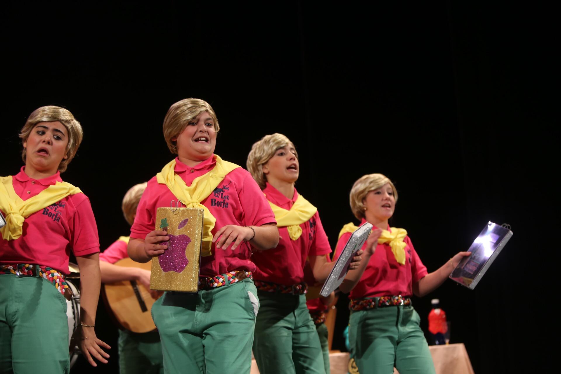 Los infantiles adelantan el inicio del Concurso del Falla con el teatro lleno