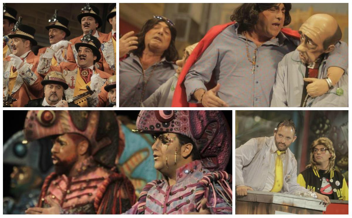 Ares, Selu, Pastrana y Gago, triunfadores del Carnaval 2016