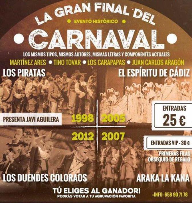 ¿La mejor final de la historia del Carnaval de Cádiz? Es posible