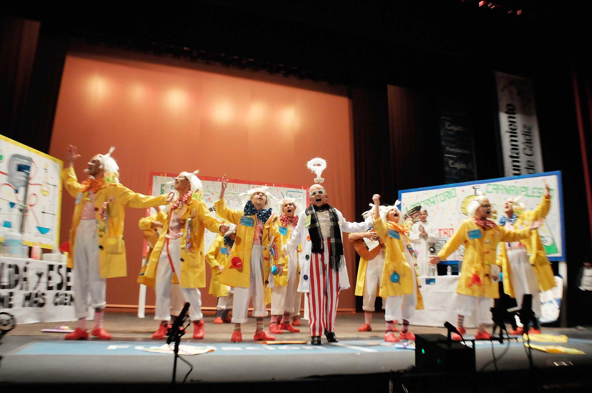 El maestro Pipirigaña, Primero de Cuarteto y Mi alegría de vivir, triunfadores en la Final Infantil del Carnaval 2015