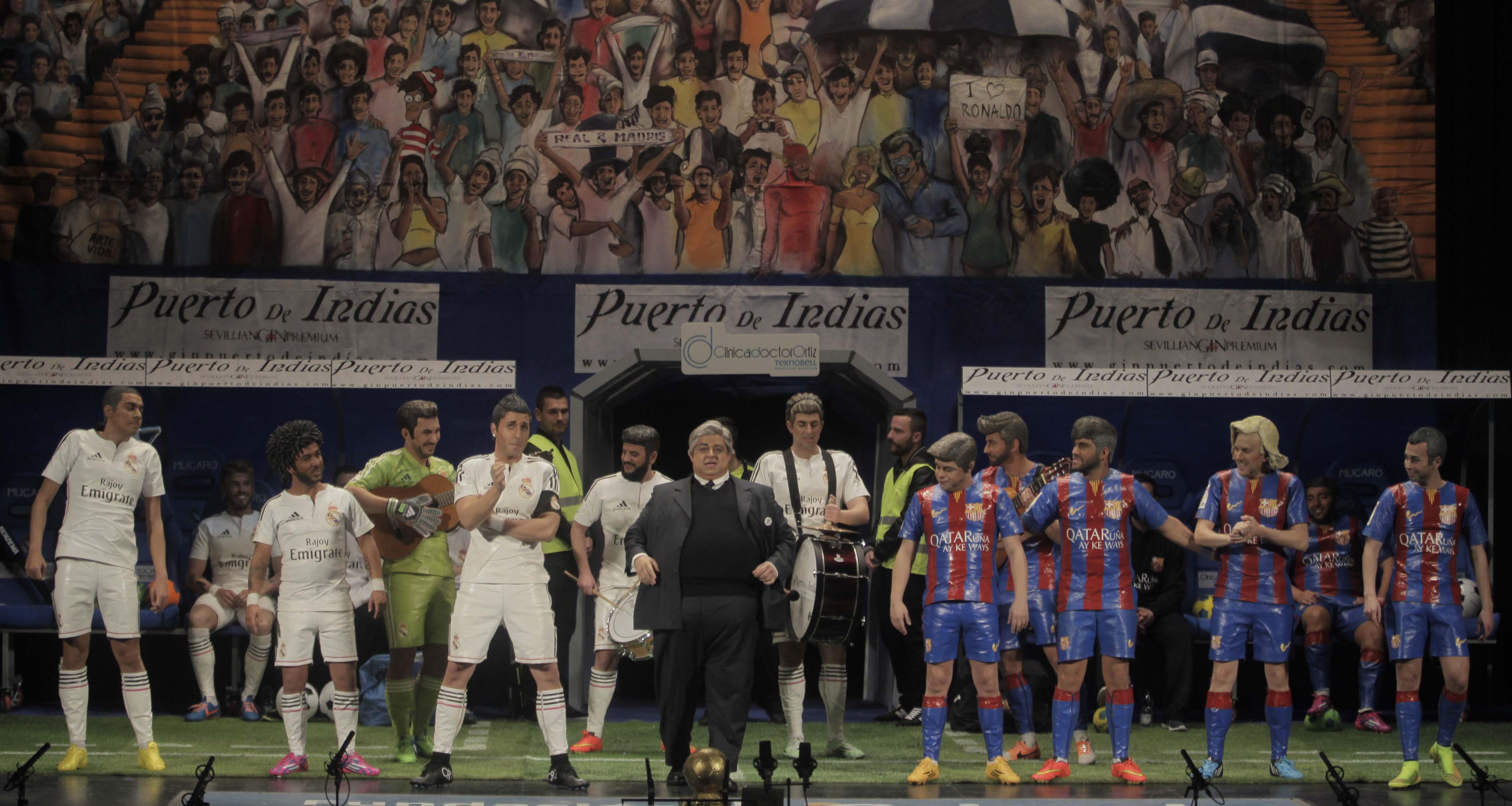 El Canijo y Julio Pardo confirman que son dos pesos pesados del Carnaval
