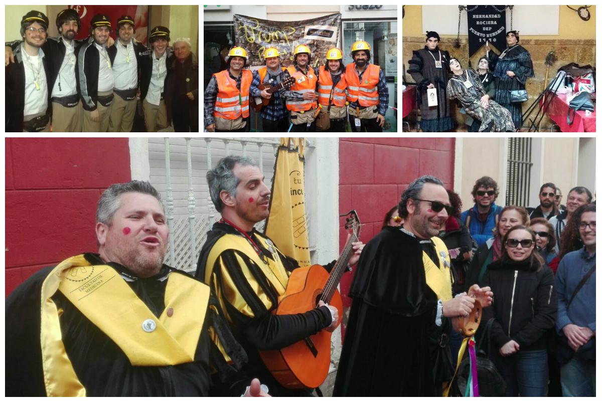 La última concentración de ilegales, este domingo en el Baluarte de la Candelaria