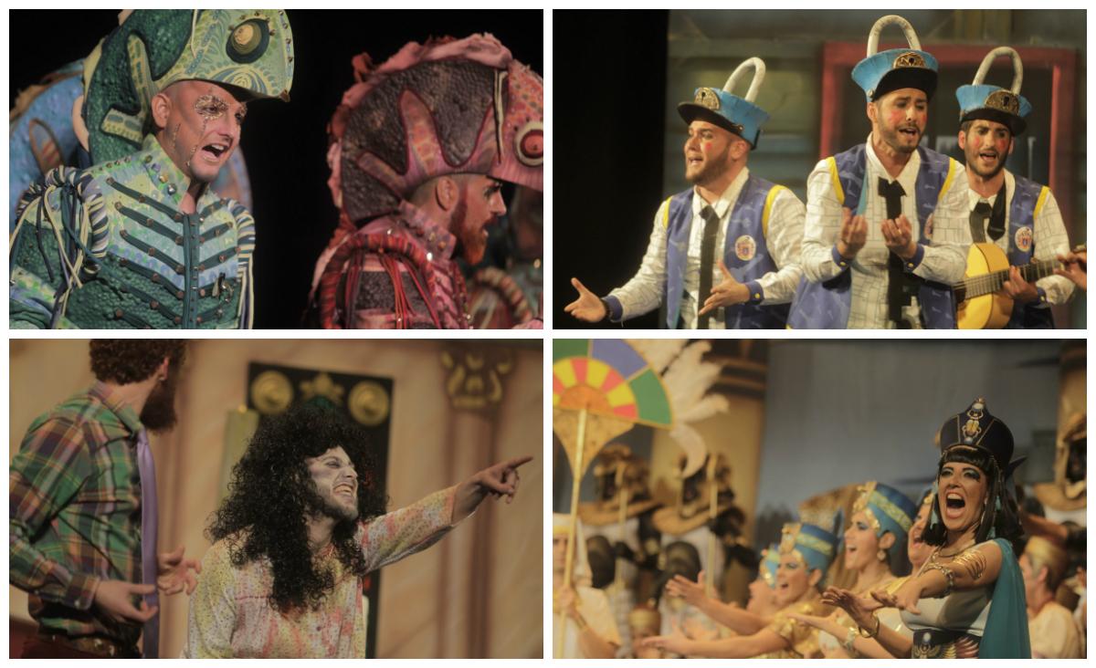 Autores otorga los premios a los mejores del Carnaval de Cádiz 2016
