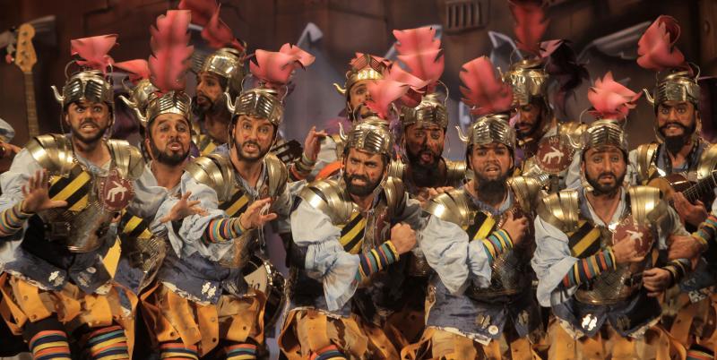 'Los imprescindibles' recibe hoy la Aguja de Oro del Carnaval 2015