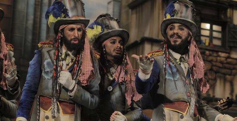 Los Millonarios, la comparsa de Juan Carlos Aragón, nunca tuvo rival en el Carnaval