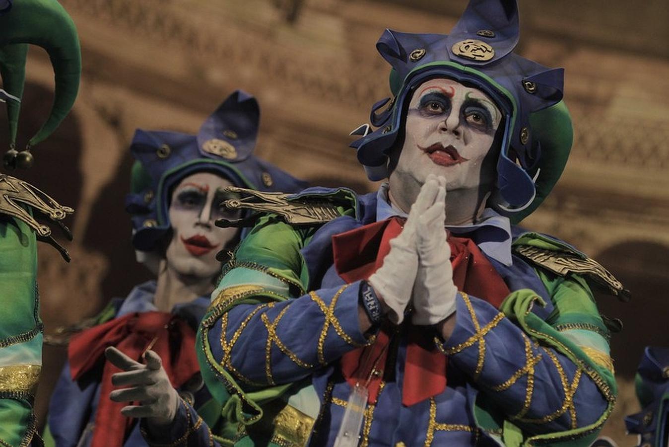 La comparsa El Reino de Don Carnal, premio Fermín Salvochea