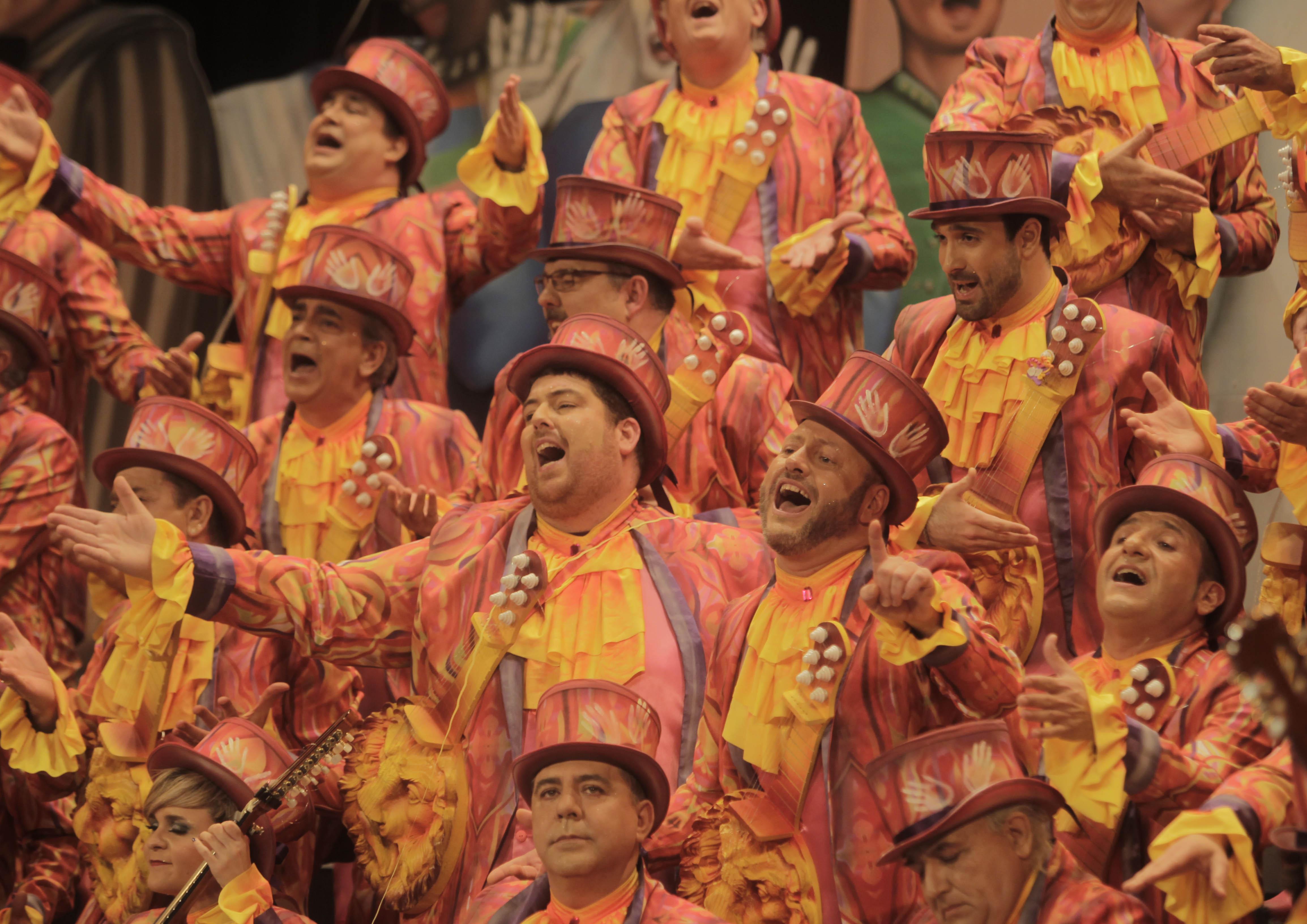 Orden de actuación de la Gran Final del Carnaval de Cádiz