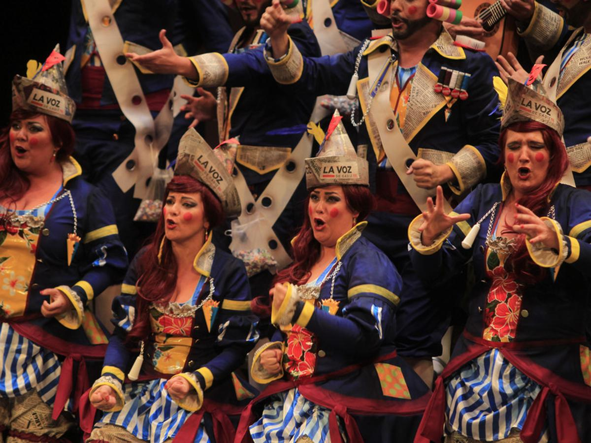 El Carnaval de Cádiz canta una copla a la Infanta Cristina y a Urdangarin el mismo día de la sentencia