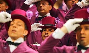 El coro 'Los niños' gana el XV Certamen 'Coplas del Carnaval de Cádiz para Andalucía'