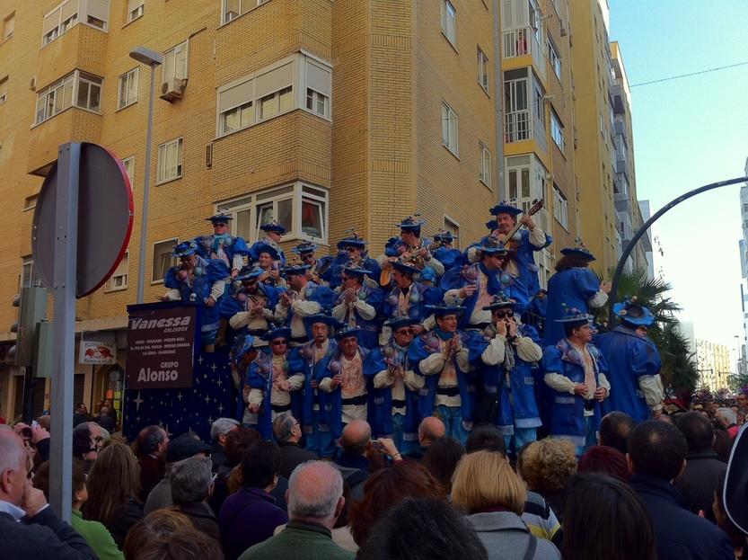 Segunda Aguada, primera estación del carrusel de coros